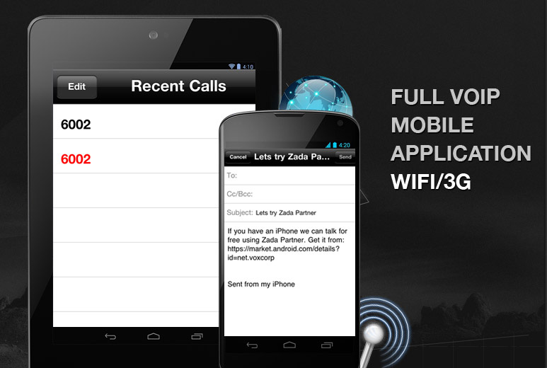 VOIP/SIP calling mobile application