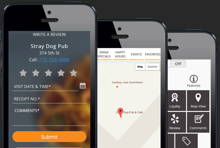 Mobile Restaurant Finder App