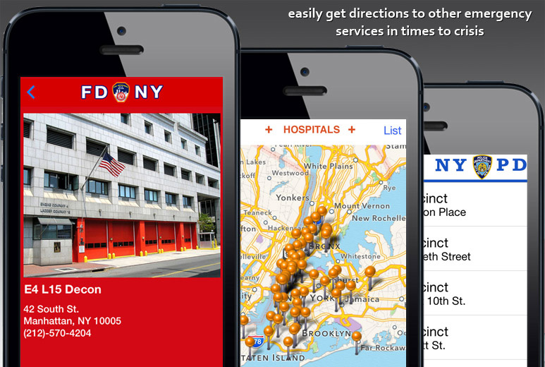 New York Emergency Service Locator