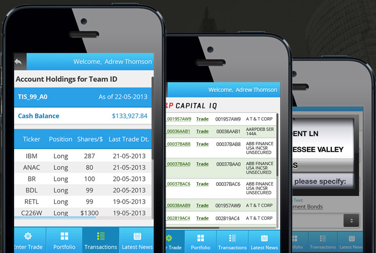 Mobile Stock Trading Education Solution